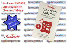 Sunbeam Espresso Machine Cleaning Tablets EM0020 PK8 - GENUINE SUNBEAM IN STOCK