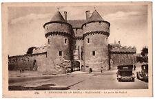CPA 44 - GUERANDE (Loire Atlantique) - 17. La Porte Saint-Michel (automobiles)