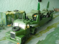 dinky /corgi military army scammell vehicle transporter and two vehicles code3