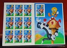 UNITED STATES POSTAGE STAMPS - Sylvester and Tweety Sheet of 10 (SC #3204 MINT)
