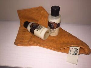 The Body Shop x2 60ml Coconut shower creams plus Bath Mitt/wash cloth.