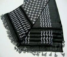100% Cotton Shemagh Keffiyeh Arab Army New Hatta Real Arafat Head Scarf Original