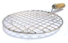 Round Stainless Steel Wire Roaster Roti Jari, Papad Grill, Chapati Grill free sh