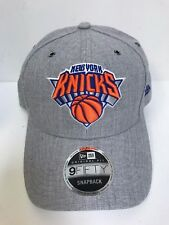 New Era 9Fifty NBA New York Knicks Grey w/ Hologram Details Snapback Hat