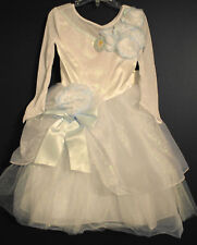 New Disney Store CINDERELLA Wedding Costume XXS 2/3
