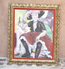 MAGNIFICENT 1900'S IMPRESSIONIST OIL ON CANVAS PAINTING SIGNED E. KENNDEY L.A.