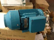 1812JM Brook Crompton Electric Motor - 1HP 1450RPM 145JM Frame 190/380 Volts