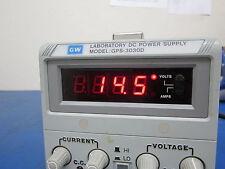 GW Laboratory DC Power Supply Model: GPS-3030D - Working!