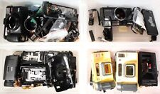 MINOLTA LARGE PARTS LOT FREEDOM ZOOM 70C, WEATHERMATIC DUAL 35,  FREEDOM TELE