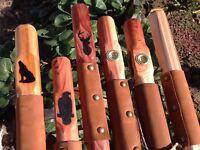 Rugged Terrain Wood Walking Stick Wooden Hiking Hike Staffs Hand Carved Design