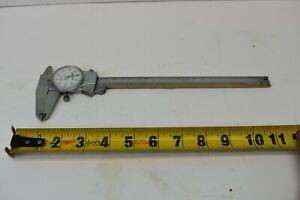 """USED Mitutoyo Shock Proof Dial Type Range 0-8"""" 505-676 Micrometer"""