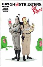 GHOSTBUSTERS GET REAL #2 STANDARD COVER