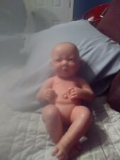 "Berenguer Newborn Baby Doll Life Like Features 14"" with no clothes but cute"