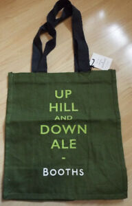 Booths Cotton Bag Up Hill And Down Ale
