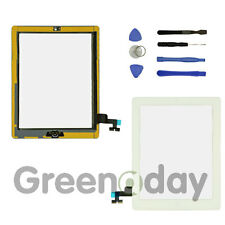 for iPad 2 Wihte Touch Screen Replacement Digitizer Front Glass With Home Button