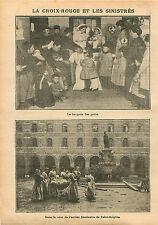 Infirmière Croix Rouge Soins Maternels Séminaire Saint-Sulpice 1910 ILLUSTRATION
