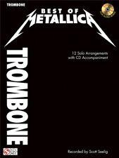 Best Of  Metallica Play Heavy Metal Rock Songs Hits Tunes Trombone MUSIC BOOK