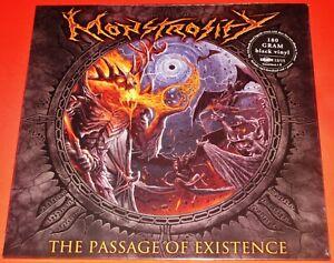 Monstrosity: The Passage Of Existence LP 180G Black Vinyl Record 2018 Poster NEW