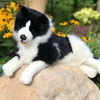 Rossi 17 Inch Border Collie Dog Plush Stuffed Animal Puppy