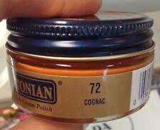 1 Jar COGNAC Color 72 Boot & Shoe CREAM POLISH Conditioner Leather MELTONIAN #72