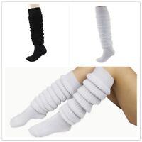Lady Lolita Bubble Loose Legs Warmer Slouch Long Socks Japanese School Cute New