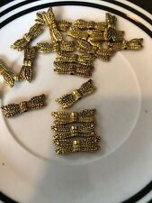 20 7x20mm Gold Bali Style Dragonfly Wings L@@K SALE #49