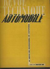 (C2)REVUE TECHNIQUE AUTOMOBILE TRACTEUR MAP DIESEL Type DR3