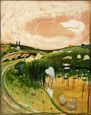 BRETT WHITELEY - MARULAN BIRD WITH ROCKS