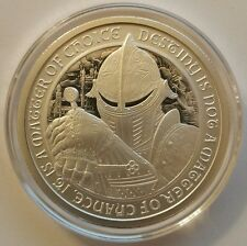 The Knights of round table 2 oz .999 Silver King Arthur Camelot knights templar