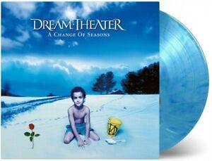 Dream Theater - A Change of Season Blue White 2 Vinyl LP 2500 WW NEU