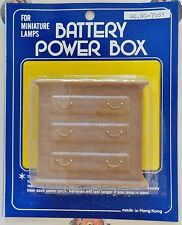 For Miniature Lamps / Battery Power Box / Dollhouse Furniture / Dresser Drawers