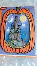 "HALLOWEEN CARD PAPYRUS HANGABLE GREETING CARD ""MAY HALLOWEEN BRING YOU..."""