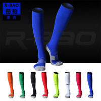 Unisex Knee High Sports Football Tube Soccer Socks Compression Running Socks