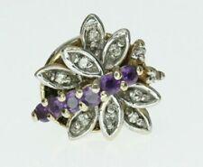 14k Yellow Gold Diamond Butterfly Charm