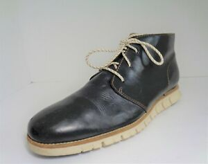 Cole Haan Zerogrand Chukka Boot Mens Boots Navy Blue US Size 11M