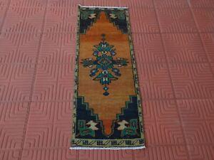 Oushak Turkish Oriental Rug, Turkish Vintage Rug, Antique Rug, Tapis Berber, Ori