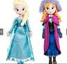 2pcs/set  Princess Elsa/Anna Toys Soft Stuffed Plush Doll Kids Gift Toys