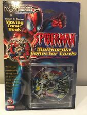 Marvel In Motion Spider-Man Multimedia Collector Cards Silver Sable Mac PC New