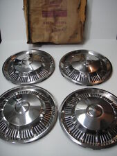 1962 Ford Fairlane Hubcap Wheelcover NOS in BOX! Set of 4 + 1