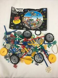 Assorted Knex lot with idea book