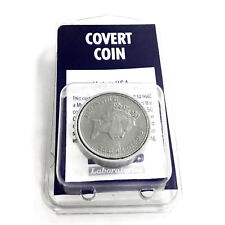 MicroSD Covert Spy Coin Secret Compartment - Authentic British 10 Pence