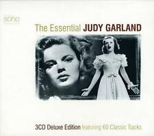 THE ESSENTIAL JUDY GARLAND - COFFRET 3 CD - 60 TITRES - OCCASION - COMME NEUF