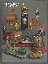 BERTOIA Stanley P Sax Bank Collection Antique Mechanical HC Auction Catalog 1998