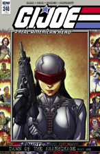 IDW GI JOE A REAL AMERICAN HERO #246 CHAD HARDIN VARIANT COVER A