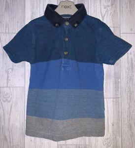 Boys Age 18-24 Months - Next Striped Polo Shirt