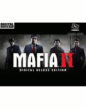 Mafia II 2 Digital Deluxe Edition Steam Key Pc Game Neu Global