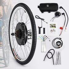 """26"""" Electric Bicycle Conversion Kit Avant Roue arrière E Bike Hub 500W 1000W  *"""