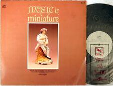 AVM UK Chopin Liszt RICHARD TILLING Piano MUSIC IN MINIATURE Vol. 1 AVM-1005