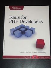 Rails for PHP Developers 1ed 2008 DeVries Naberezny NEW