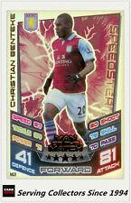 2012-13 Match Attax Extra Man Of Match Foil Card M2 Christian Benteke (AVFC)